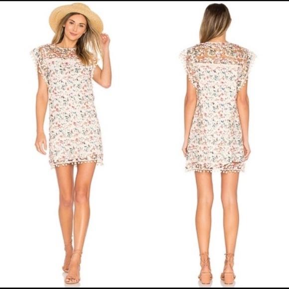 Tularosa Dresses & Skirts - Tularosa Elba Pom Pom dress